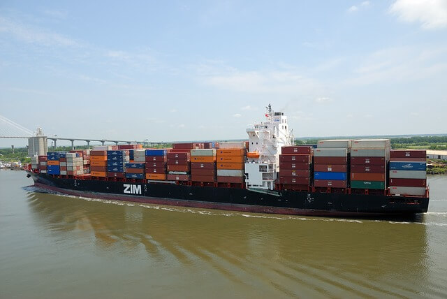 kontener transportowy